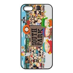 LeonardCustom South Park Cartoon Protective Hard Rubber Coated Cover Case for iPhone 5 & iPhone 5S -LCI5U683 by Maris's Diary