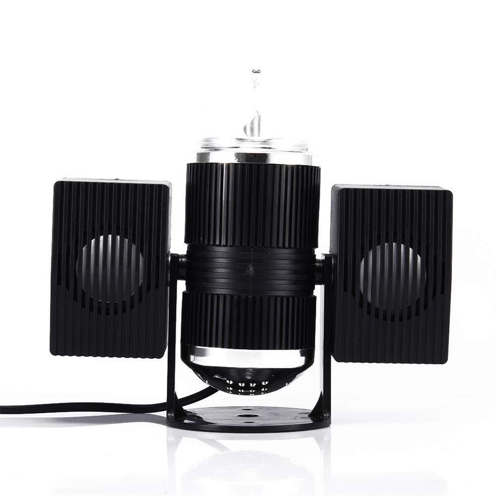 LED ステージライト移動ヘッドライトミニレーザーライト星空リモートコントロール赤と緑2色の制御モード DJ KTV ディスコパーティーのために。   B07NVM5W63