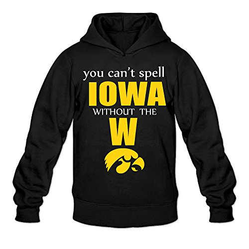 CYANY Iowa Hawkeyes Basketball - You Can't Spell Iowa Without The W Women's Latest Hoodies Sweater - Ireland & Co Tiffany