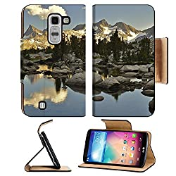 Landscapes Nature Wild Lake Scenery LG G Pro 2 Flip Case Stand Magnetic Cover Open Ports
