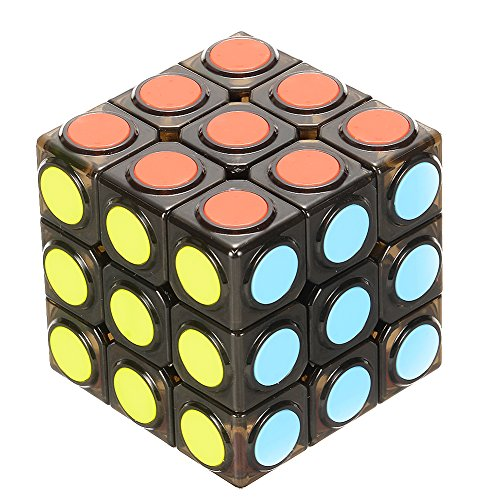 3x3x3 YJ Yulong Transparent Color Stickerless Cube puzzle Moyu - 8