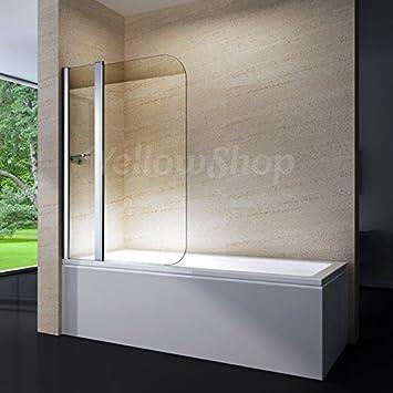 Yellowshop – pared bañera mampara para baño o ducha de aluminio ...