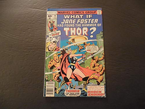 What If.#10 Aug 1978 Bronze Age Marvel Comics Jane Foster/Thor