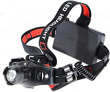 1200Lm Linterna Frontal Luz Headlight Headlamp Q5 LED Camping Pesca Caza R TOOGOO Linterna