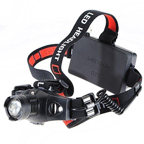 Linterna TOOGOO 1200Lm Linterna Frontal Luz Headlight Headlamp Q5 LED Camping Pesca Caza R