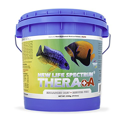New Life Spectrum NAT Thera-A Med 2200g Fish Food by New Life Spectrum