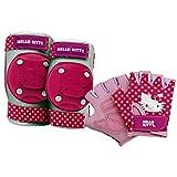 Bell Hello Kitty pedal y equipo de protección