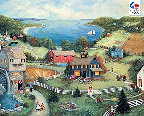 Ceaco Linda Nelson Stocks Catherine's Cove Jigsaw ()