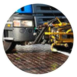 alfombrilla de ratón equipo especial en el camión de limpieza viaria - ronda - 20cm