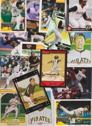 Pittsburgh Pirates / 1500+ Newer cards from 1993 - (Pirates Trading Card Game)
