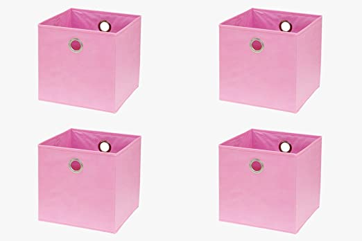inwona IKEA Kallax (Anteriormente Expedit) Estantería – Caja plegable (32 x 32 x 32 cm/Juguete Caja