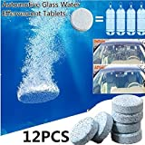 Ocamo Automotive-Carpet-Cleaners 6 Pcs/Set Car Windshield Glass Washer Cleaner Compact Effervescent Tablets Detergent