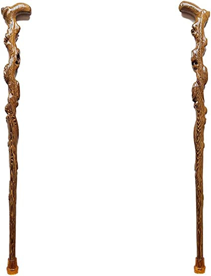 Solid Hand Carved Wood Derby /& Classic Style Walking Stick Cane Handles