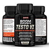 Testosterone Boosters - #1 Proven Testosterone Boosting Supplement For Men And Women* Formerly TESTOBOOM Now TESTO VI*. It Contributes to *Normal Testosterone Levels, *Reduction in Fatigue, & *Normal Energy-Yielding Metabolism* or Your Money Back! *100% PURE, *Best NATURAL Testosterone Booster - 120 Maximum Strength Testosterone Tablets - 4 FULL Month Supply. Manufactured In The UK! (Bottle Design May Vary)