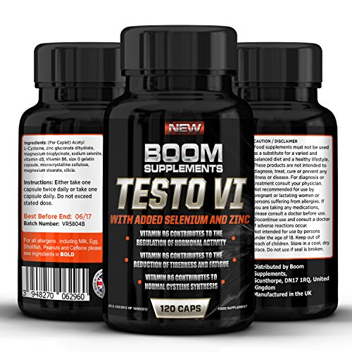 Testosterone Boosters for Men - #1 Proven Testosterone Boosting Supplement...