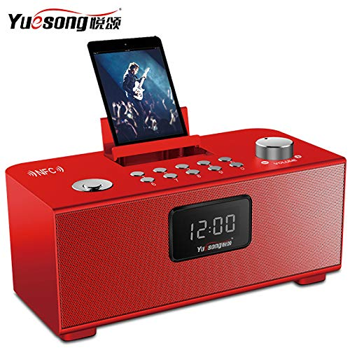 xingganglengyin Wireless Bluetooth Speaker Desktop Card Computer Phone Outside Audio Car Subwoofer Alarm Clock by xingganglengyin (Image #4)