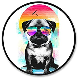 Expanding Stand grip for Smartphones and Tablets Cell Phone Stand Pugs Sunglasses