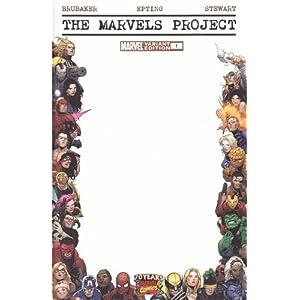 Marvels Project #1 Blank Frame Variant