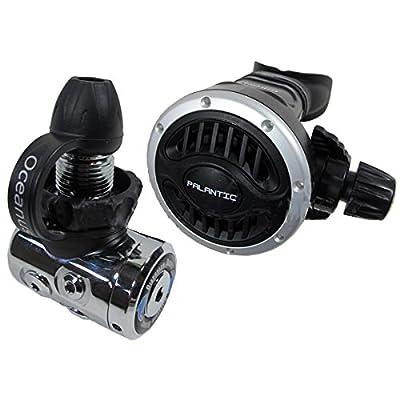 "Scuba Choice Scuba Diving Palantic AS105 DIN Regulator Adjustable Second Stage with 27"" Hose"