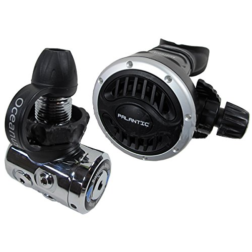 Scuba Choice Scuba Diving Palantic AS105 DIN Regulator Adjustable Second Stage with 27