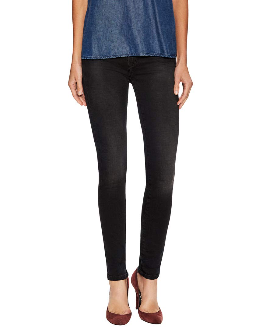 MiH Jeans Women's Bodycon High Rise Super Skinny Jeans, Wick, 30