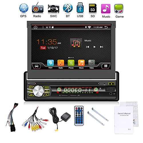 2G 32G Single Din Android 6.0 Quad-Core 7