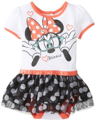 Disney Baby Baby-Girls recién nacido Nerdy Minnie Mouse Falda ...