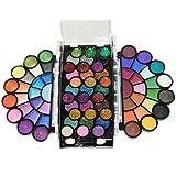 Dazzling 77 Color Matte Neon Glitter Eyeshadow Makeup Kit