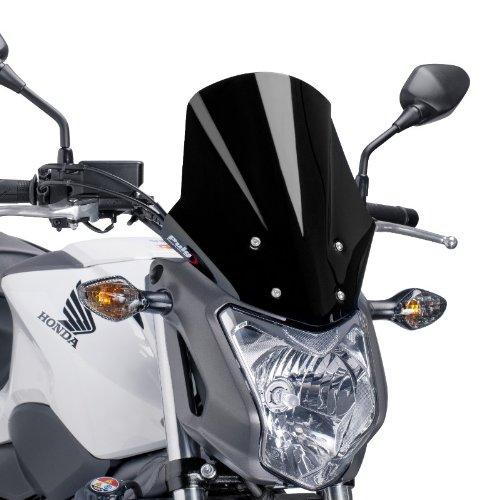 Racingscheibe Honda NC 750 S 14-19 schwarz Puig 5991n