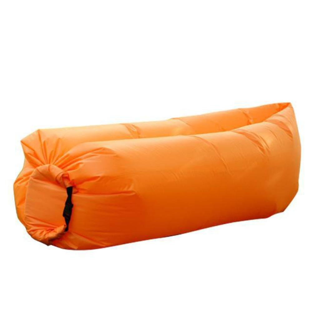 Inflatable Lounger, Portable Air Beds Sleeping Sofa Couch for Travelling, Camping, Beach, Park, Backyard by homeme