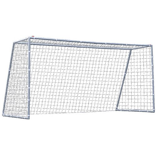 Practiceパートナーデラックス12 ' Soccer Goalシルバー B009IUZ1A2