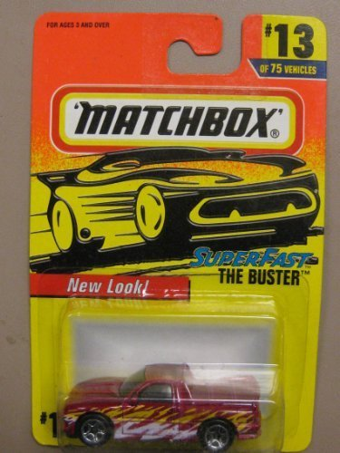 - Matchbox Super Fast Series The Buster Customized Street Pick-Up Truck #13 of 75 Vehicles8-75