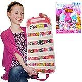 Dreamworks Trolls Series 6 Blind Bag Shopkin with Compatible EASYVIEW Toy Case Organizer Bundle