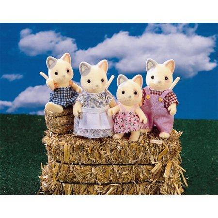 Calico Critters Critters Whiskers Family Cat B00004U31X Family B00004U31X, ニシカツラチョウ:b4cfe1ed --- arvoreazul.com.br