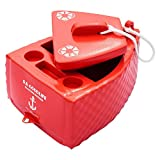Super Soft S.S. Goodlife Floating Cooler in Caribbean Coral - Outdoor and Summer Activities, Swimming Pools and Ground Pools, Beaches and Lakes, Ice and Beverage Storage (1, Carribean Coral)