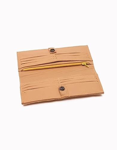 Monedero de mujer CALAVERA hecho a mano con cuero de alta calidad.: Amazon.es: Handmade