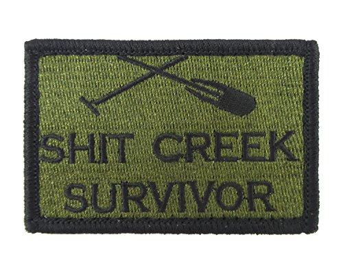 Survivor Tactical Embroidered Morale Tags