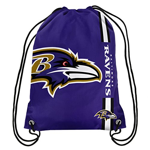 NFL Baltimore Ravens Big Logo Drawstring Backpack]()