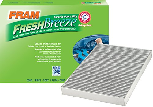 FRAM CF10364 Fresh Breeze Cabin Air Filter with Arm & Hammer
