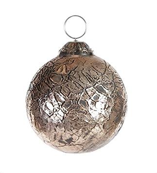Christbaumkugeln Glas Kupfer.Ptmd Christbaumkugel Mattan Aus Glas Kupfer 8 Cm Amazon De Küche