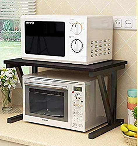 Indian Decor 36600 Kitchen Rack 23 6inch Microwave Oven Stand Kitchen Cabinet And Counter Shelf Organizer Spicy Shelf Buy Online In Belize At Belize Desertcart Com Productid 87466254