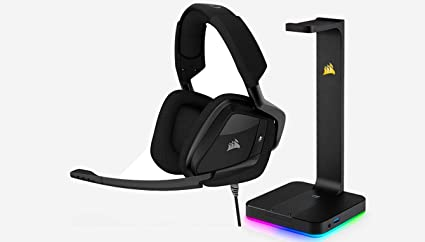 e180bce3d1c CORSAIR VOID PRO SURROUND Gaming Headset - Dolby 7.1 Surround Sound for PC  - Carbon +