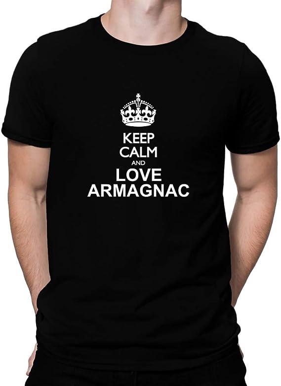 Teeburon Keep Calm and Love Armagnac T-Shirt