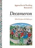 Approaches to Teaching Boccaccio's Decameron 9780873527613