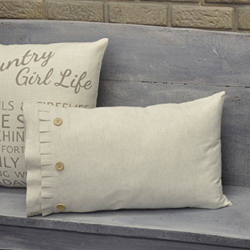 Beautiful Sofa (Piper Classics Clara's Cottage Natural Fabric Pillow Cover, 12x20, Linen Look, Farmhouse Décor Cream Throw Pillow)
