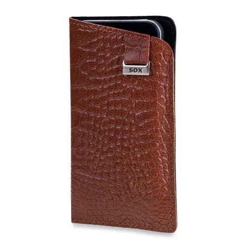 SOX KCRO 01 I5 SOX Light Croco Honey für Apple iPhone 5 / 5S SOX KCRO 01 I5