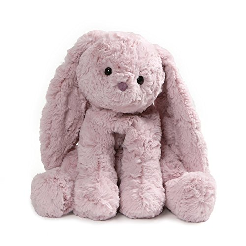 (GUND Cozys Collection Bunny Rabbit Stuffed Animal Plush, Dusty Pink, 8