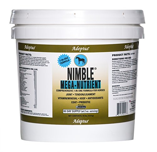 Adeptus Nutrition Nimble Mega Nutrient EQ Joint Supplements, 10 lb./10 x 10 x 10'' by Adeptus Nutrition