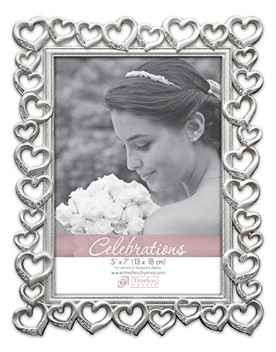 Timeless Frames Heart with Crystal, 5
