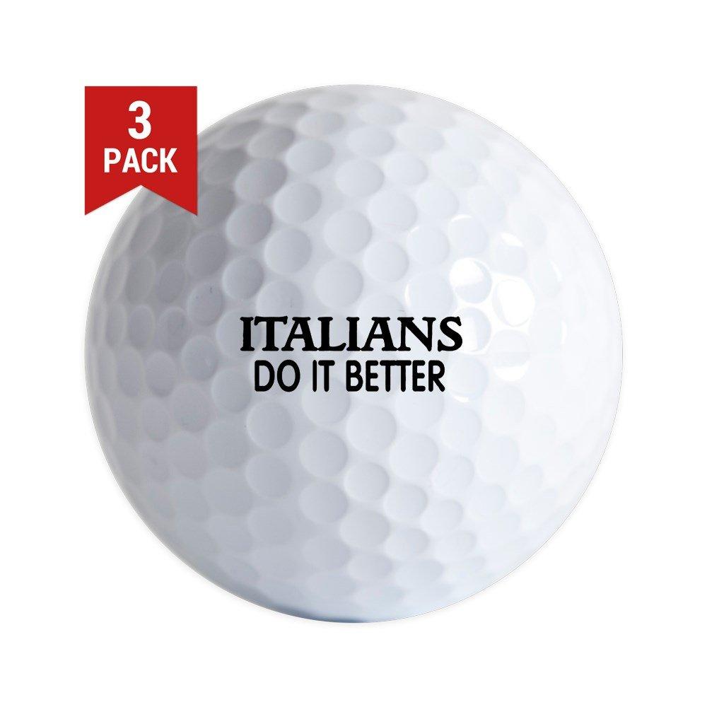 CafePress - Madonna Italians.Jpg - Golf Balls (3-Pack), Unique Printed Golf Balls